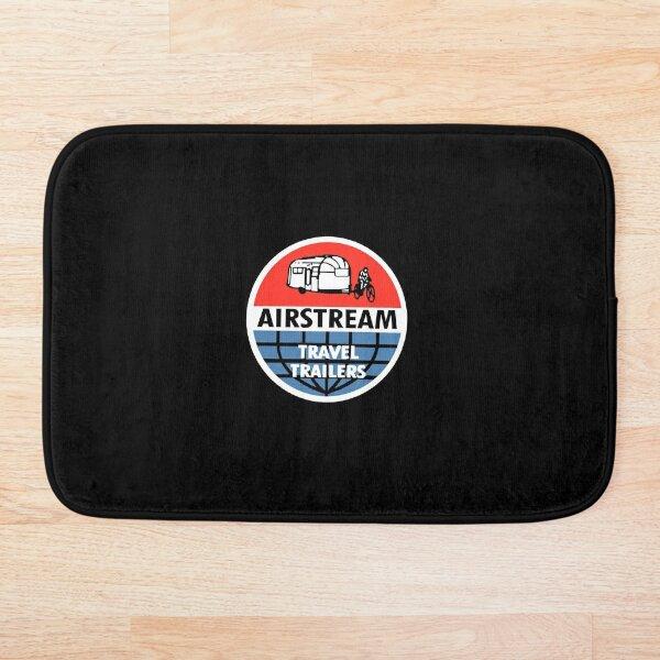 Airstream Travel Trailer Vintage Decal Bath Mat