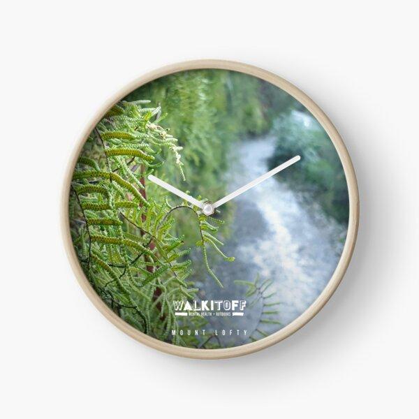 "WALKITOFF ""Natural Landscapes - Mount Lofty"" Clock"