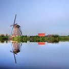 Kinderdijk in HDR by Hans Kool