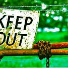 Read The Sign -  Keep Out  by Ronald Rockman