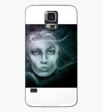 Underwater Female Sketch Case/Skin for Samsung Galaxy