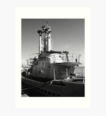 USS Pampanito Art Print