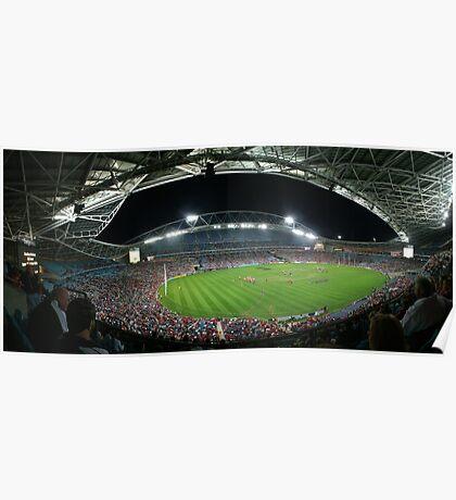 Telstra Stadium, Sydney Poster