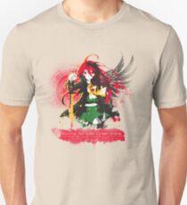 Burning Red Eyed Hunter Shana Unisex T-Shirt
