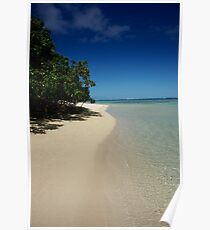 Rarotongan Beach Poster
