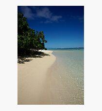 Rarotongan Beach Photographic Print