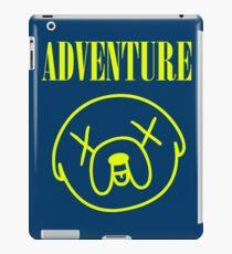Jake Adventure Time Face iPad Case/Skin