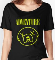 Jake Adventure Time Face Women's Relaxed Fit T-Shirt