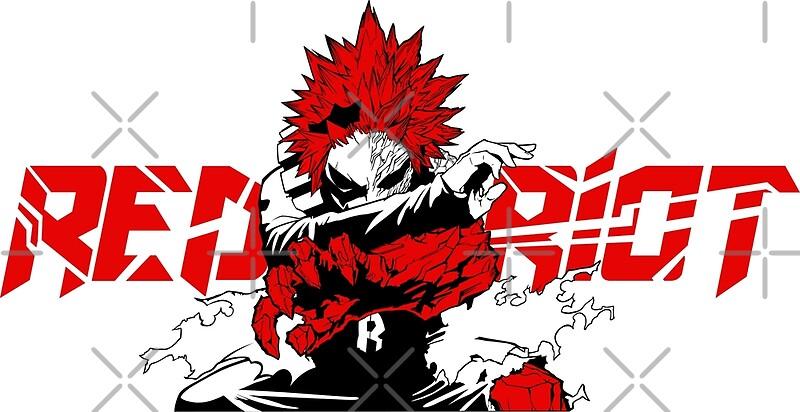 Eijiro Red Riot Kirishima My Hero Academia By Trash Candy Redbubble