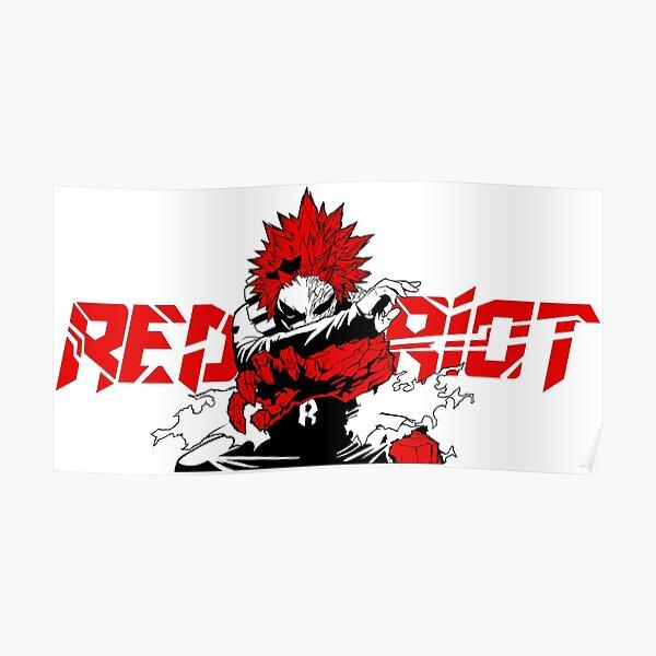 Eijiro 'Red Riot' Kirishima - My Hero Academia Poster