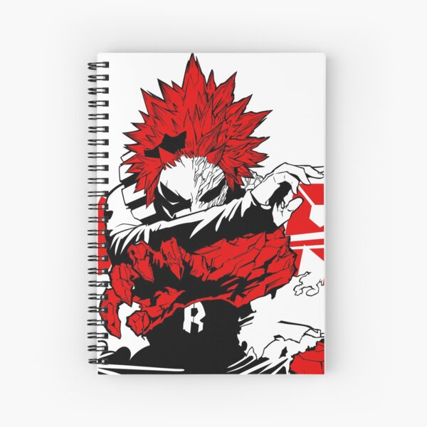 Eijiro 'Red Riot' Kirishima - My Hero Academia Spiral Notebook