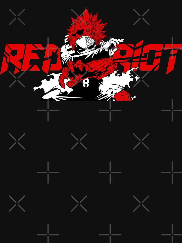 Eijiro 'Red Riot' Kirishima - My Hero Academia by trashcandy