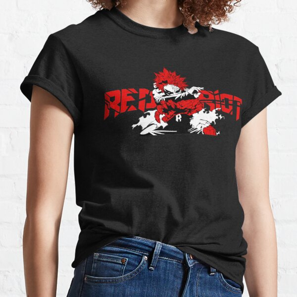 Eijiro 'Red Riot' Kirishima - My Hero Academia T-shirt classique