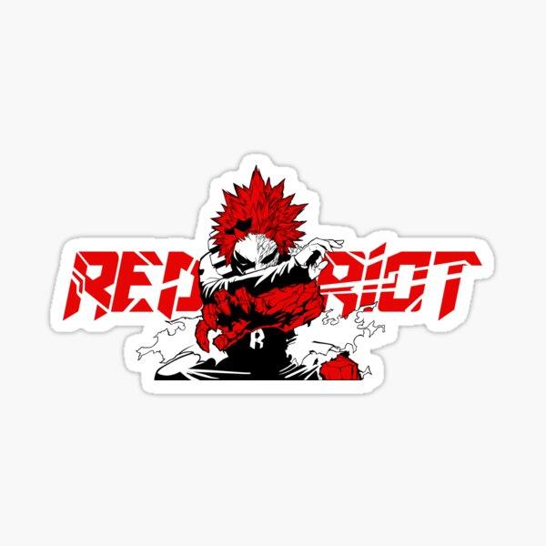 Eijiro 'Red Riot' Kirishima - My Hero Academia Sticker
