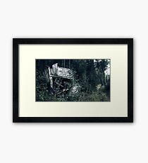 29.8.2010: Road to Oblivion Framed Print