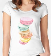 Macarons Women's Fitted Scoop T-Shirt