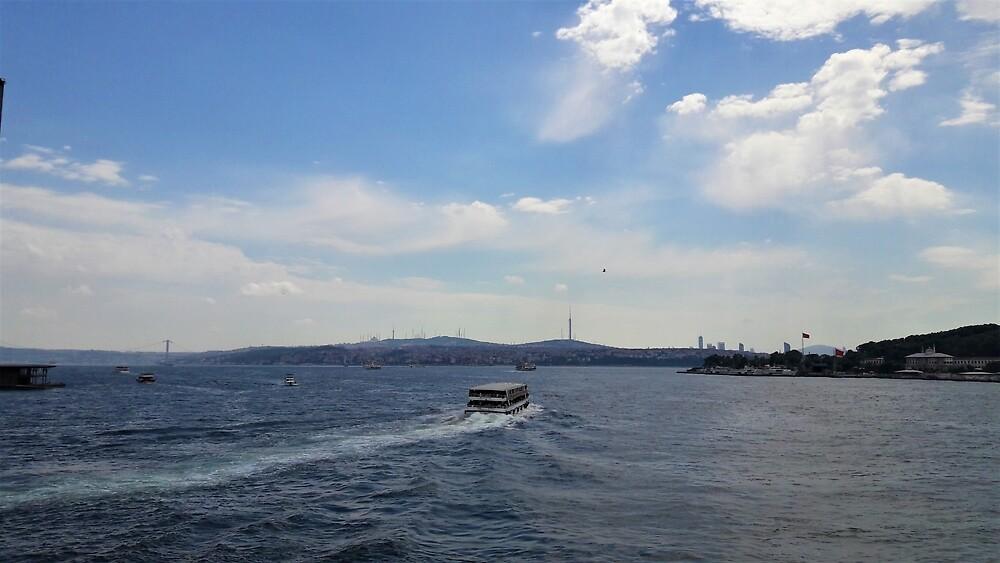 Cruising the Bosporus by tomeoftrovius
