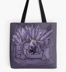 Amethyst and Her Throne Tote Bag