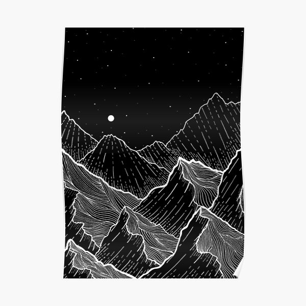 Sea Mountains Poster