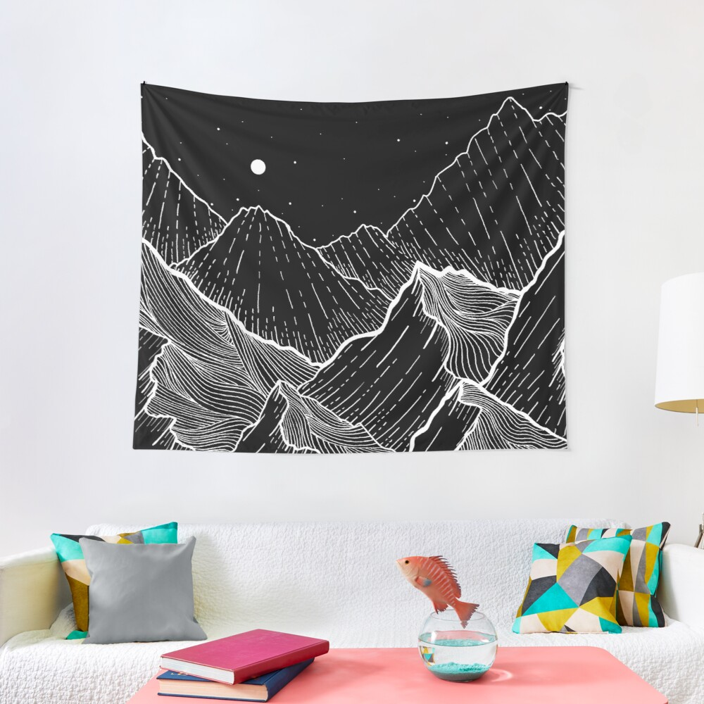 Sea Mountains Tapestry