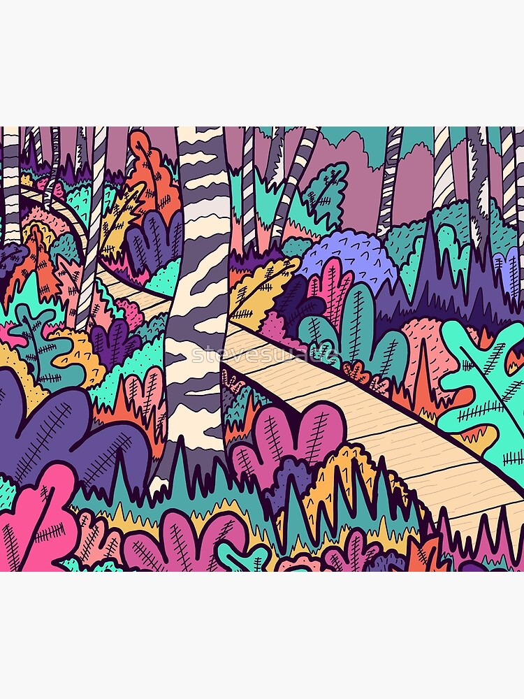 The woodland walk by steveswade