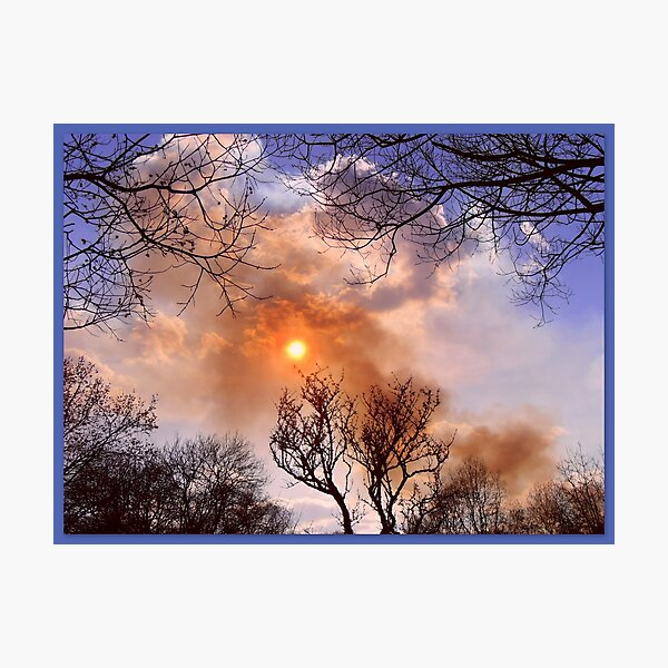 Burning Sky  Photographic Print