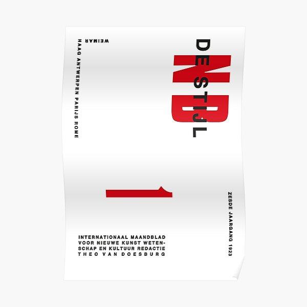 DeStijl#9 Poster