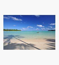 Muri Beach - Rarotonga, the Cook Islands Photographic Print