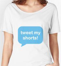 Tweet My Shorts Women's Relaxed Fit T-Shirt