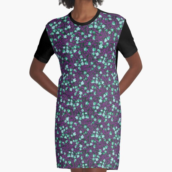 PRETTY SUMMER NIGHTS Graphic T-Shirt Dress