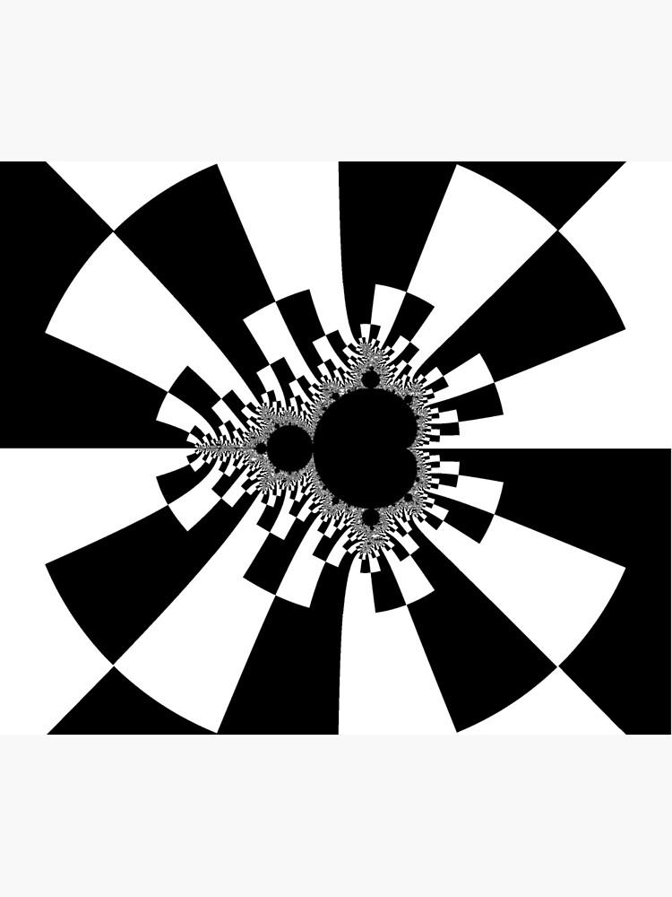 Mandelbrot XV - White by rupertrussell