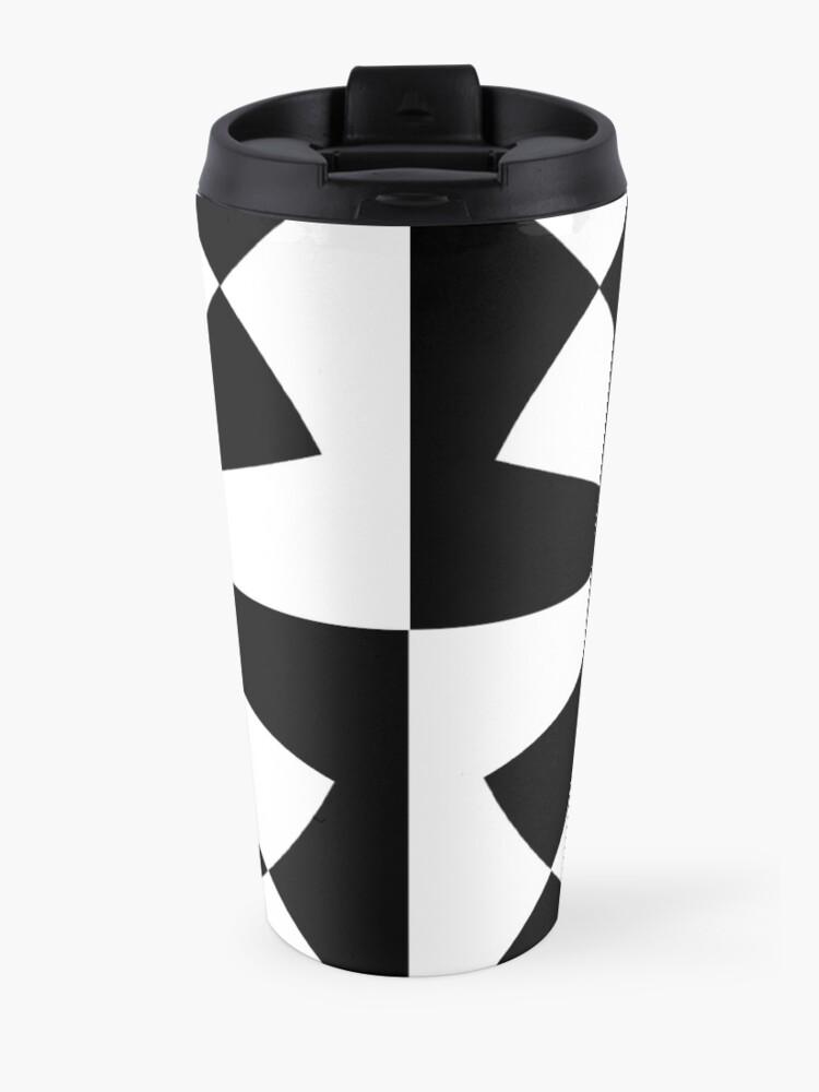 Alternate view of Mandelbrot XV - White Travel Mug
