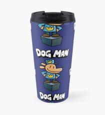 Dog Man Travel Mug