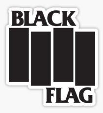Black Flag T-shirts Sticker