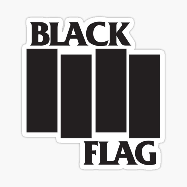 Black Flag T-shirts Sticker