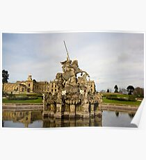 witley court perseus fountain Poster