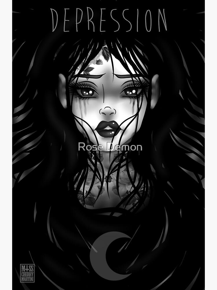 Depression  by CherryMartini