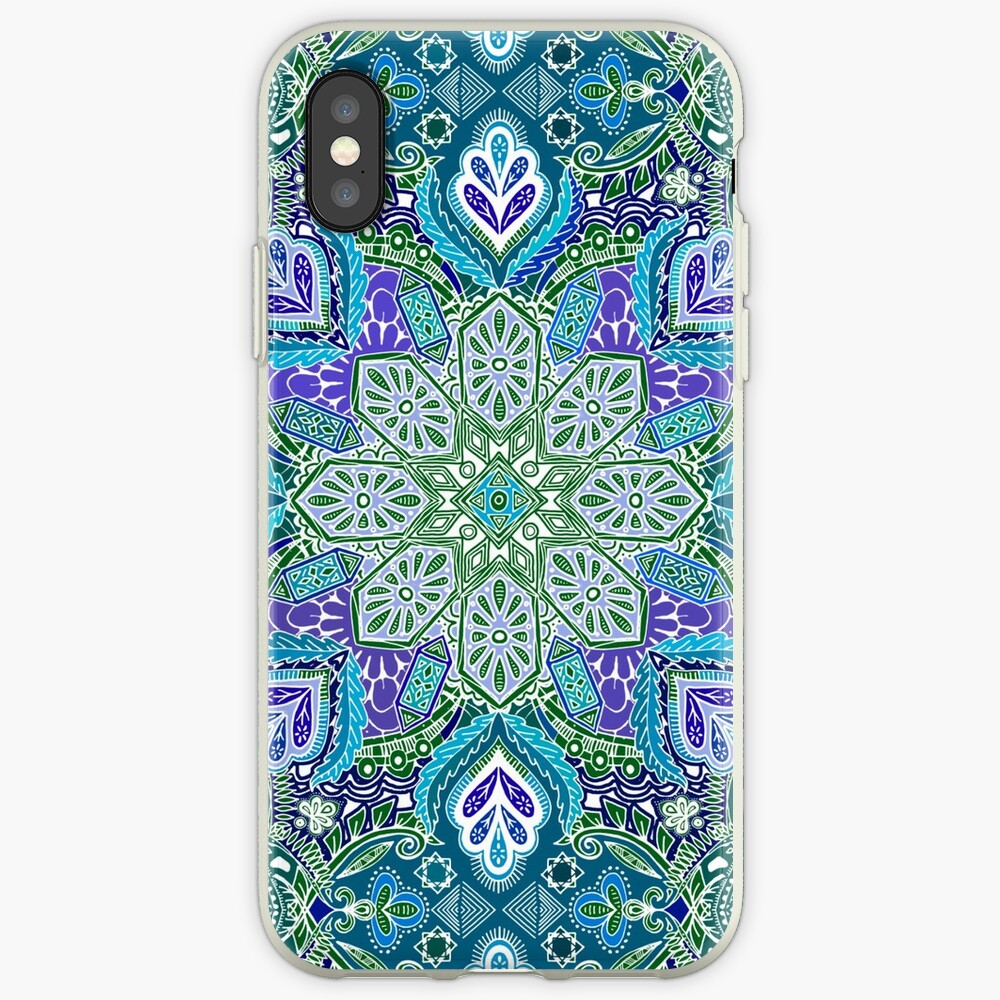 Pfau Sommer iPhone-Hülle & Cover
