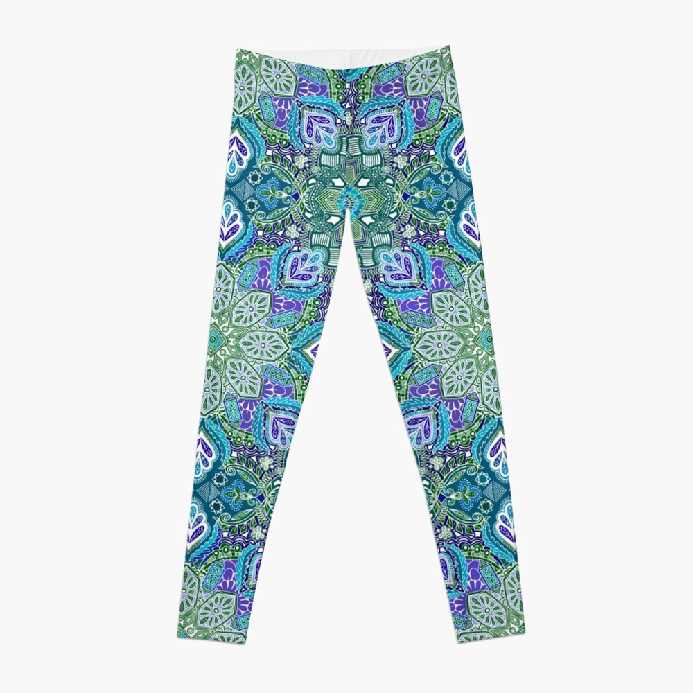 Pfau Sommer Leggings