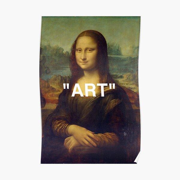 "MONA LISA ""ARTE"" Póster"