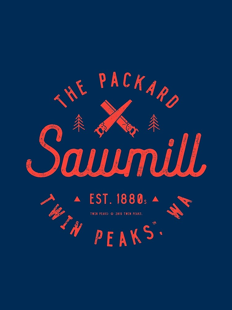 The Packard Sawmill, Twin Peaks by heavyhand