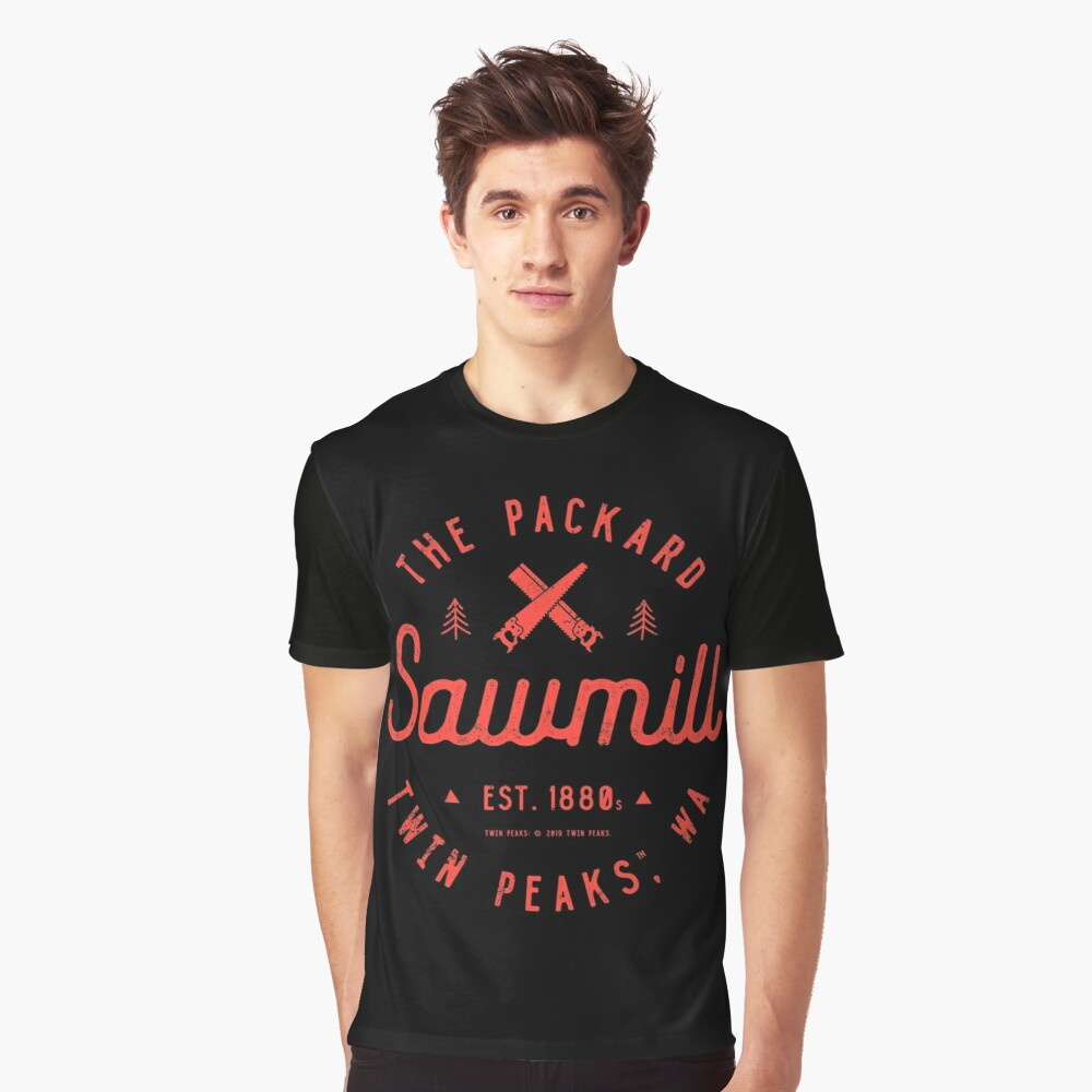 The Packard Sawmill, Twin Peaks Graphic T-Shirt