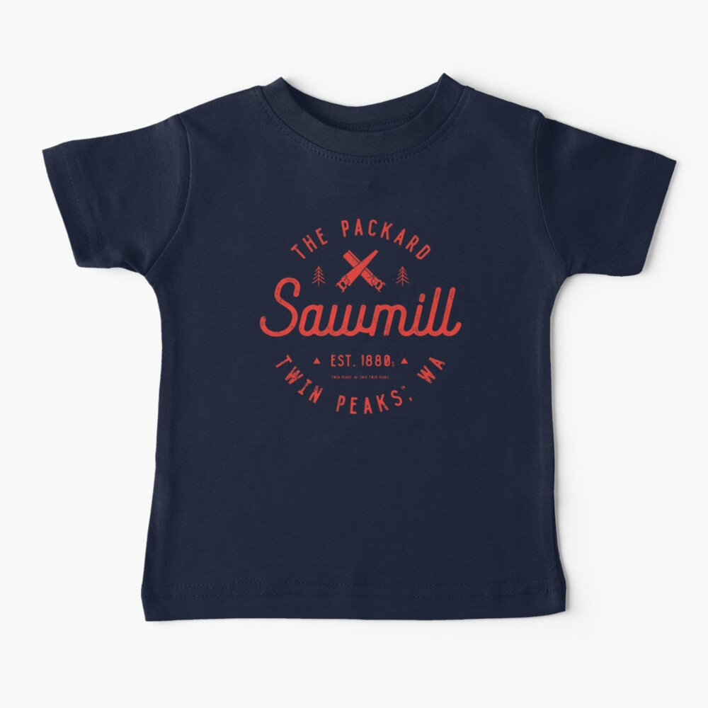 The Packard Sawmill, Twin Peaks Baby T-Shirt