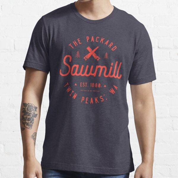 The Packard Sawmill, Twin Peaks Essential T-Shirt