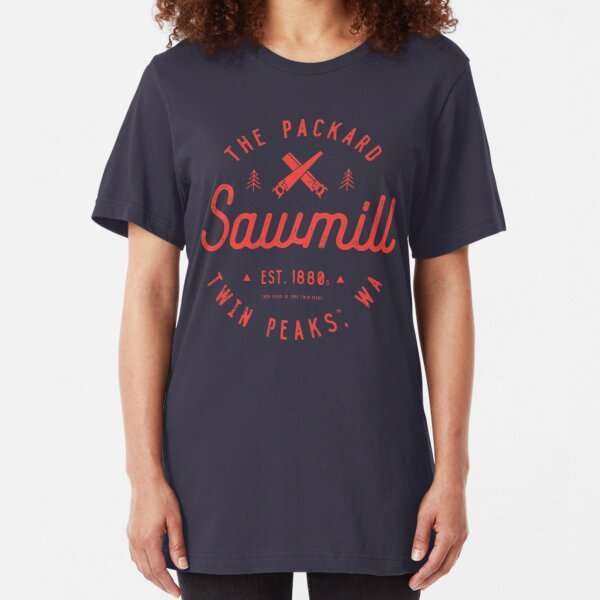 The Packard Sawmill, Twin Peaks Slim Fit T-Shirt