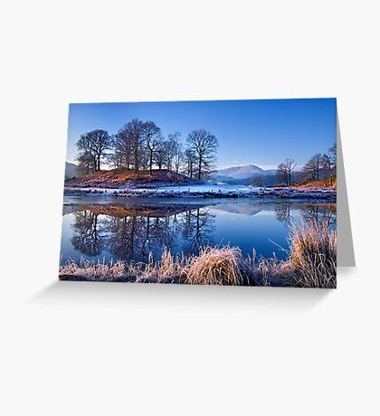 River Brathay Reflections. Greeting Card