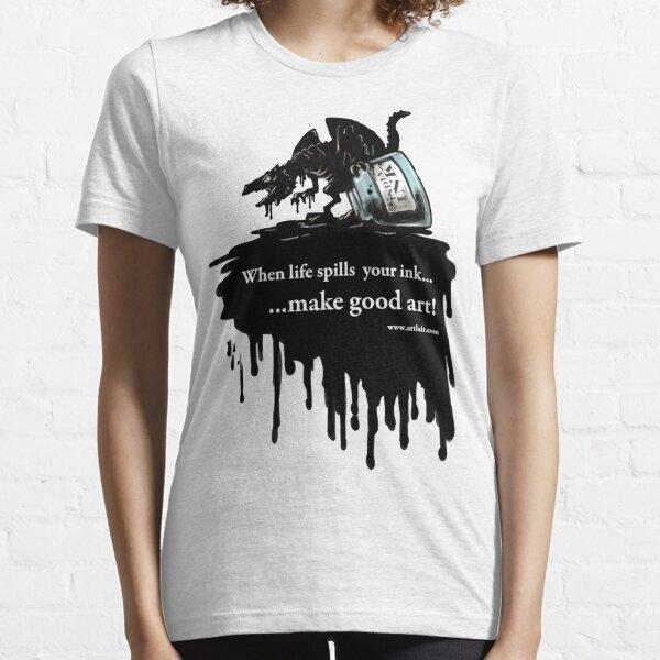 Make Good Art (Ink Dragon) Essential T-Shirt
