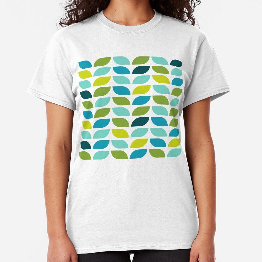Geometric Pattern: Leaf: Spring Classic T-Shirt