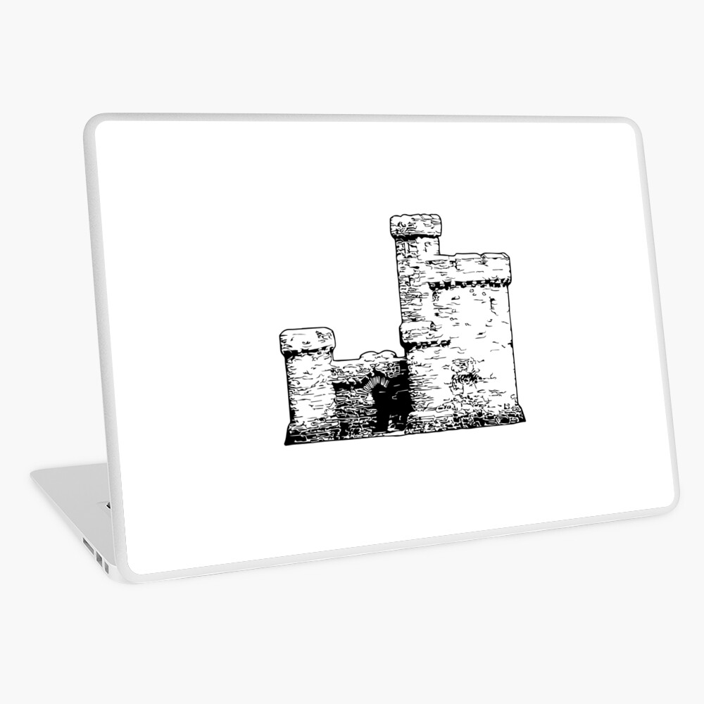 Tower of Refuge Castle Isle of Man Laptop Skin