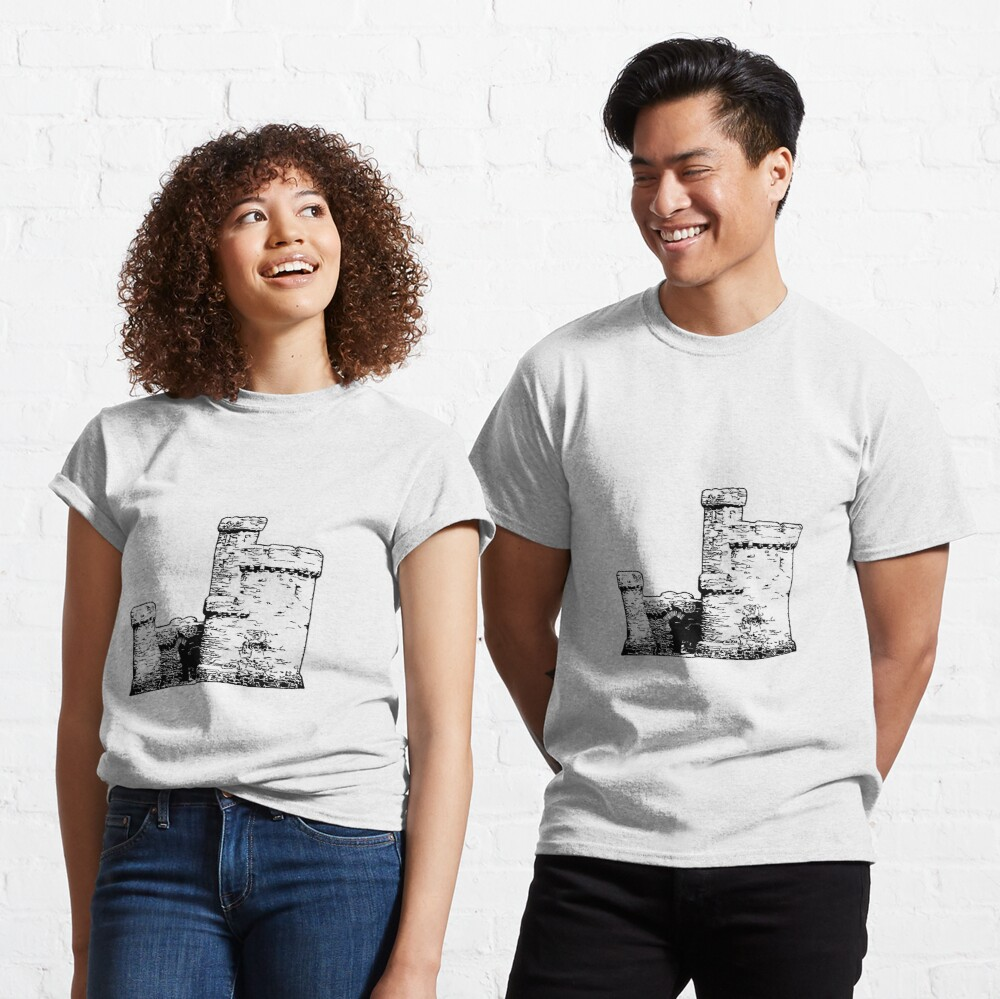 Tower of Refuge Castle Isle of Man Classic T-Shirt
